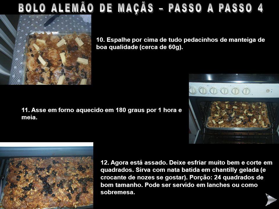BOLO ALEMÃO DE MAÇÃS – PASSO A PASSO 4
