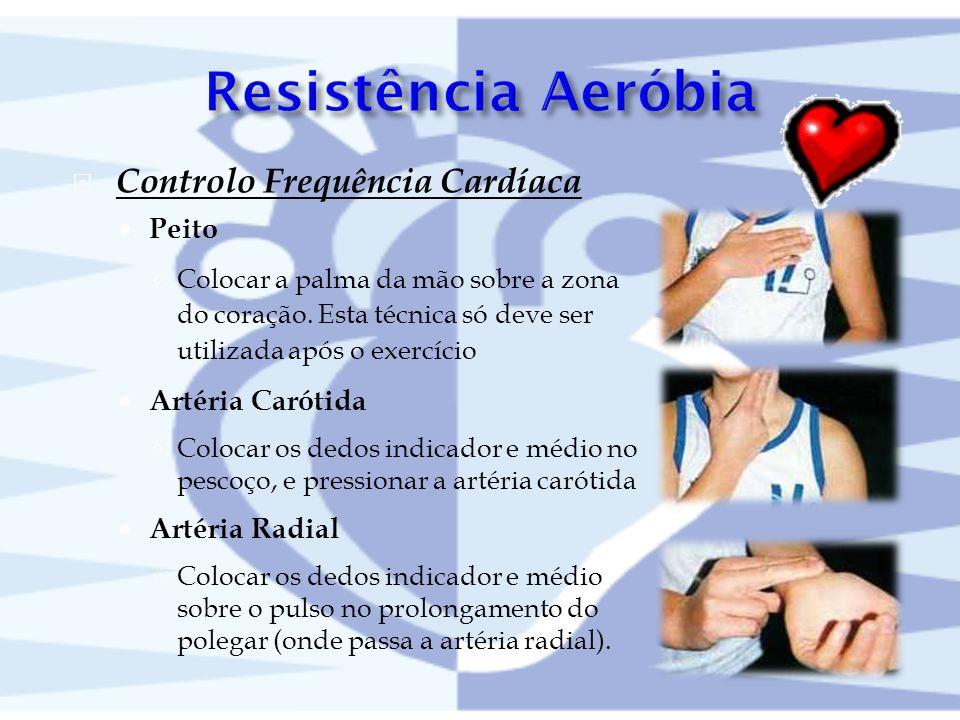 Resistência Aeróbia Controlo Frequência Cardíaca Peito
