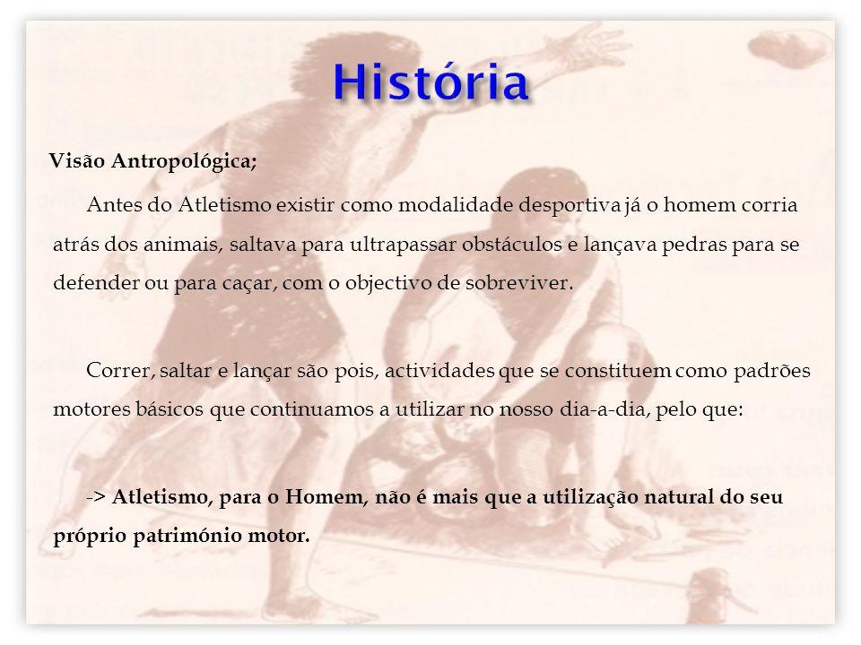 História Visão Antropológica;