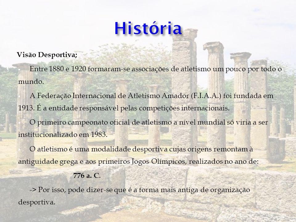 História Visão Desportiva;