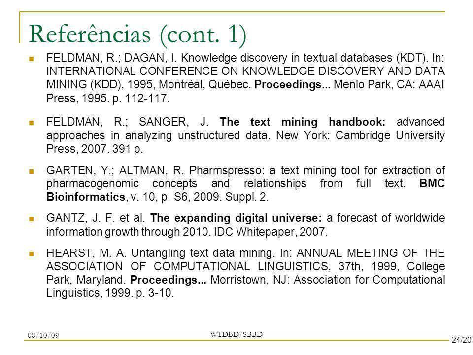 Referências (cont. 1)