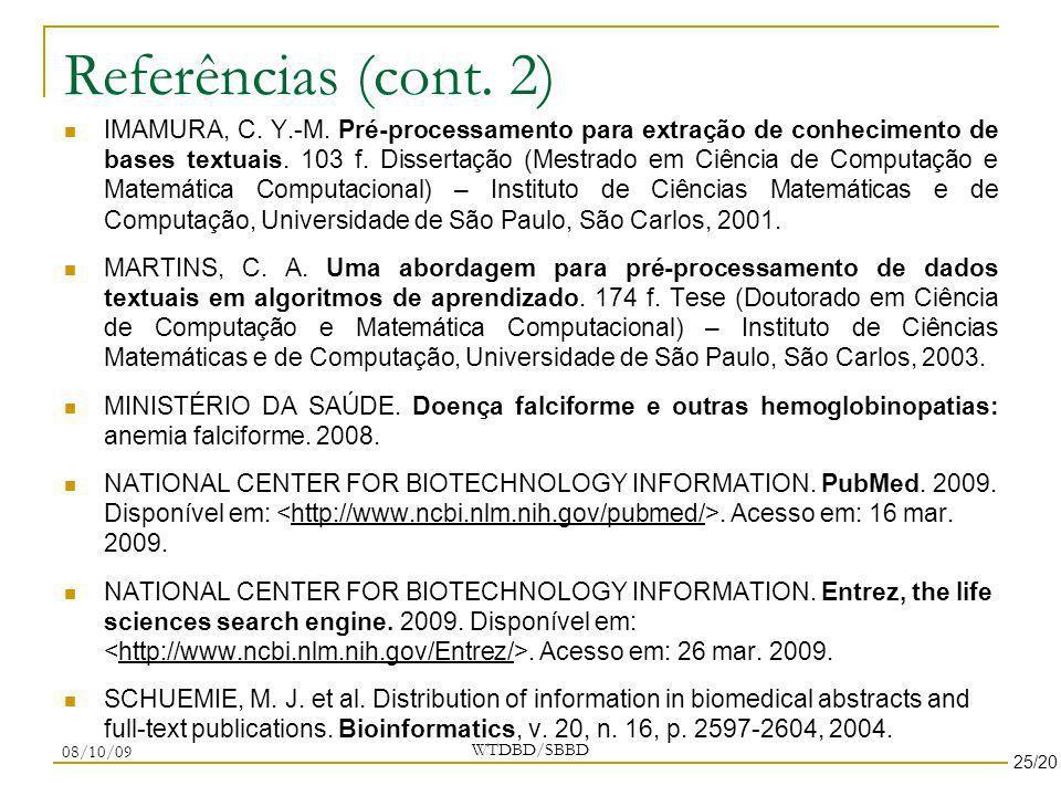 Referências (cont. 2)