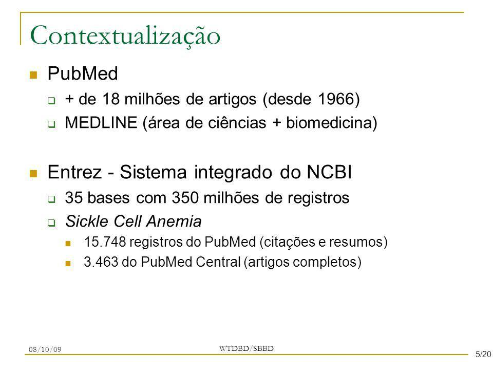 Contextualização PubMed Entrez - Sistema integrado do NCBI
