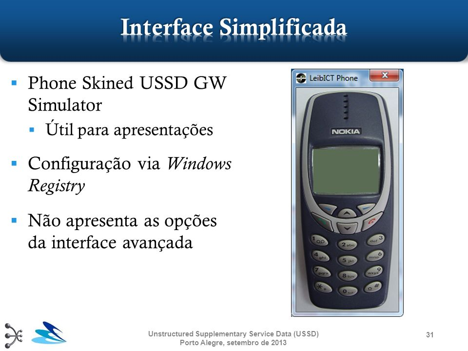 Interface Simplificada
