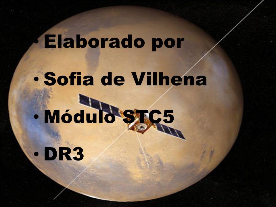 Elaborado por Sofia de Vilhena Módulo STC5 DR3