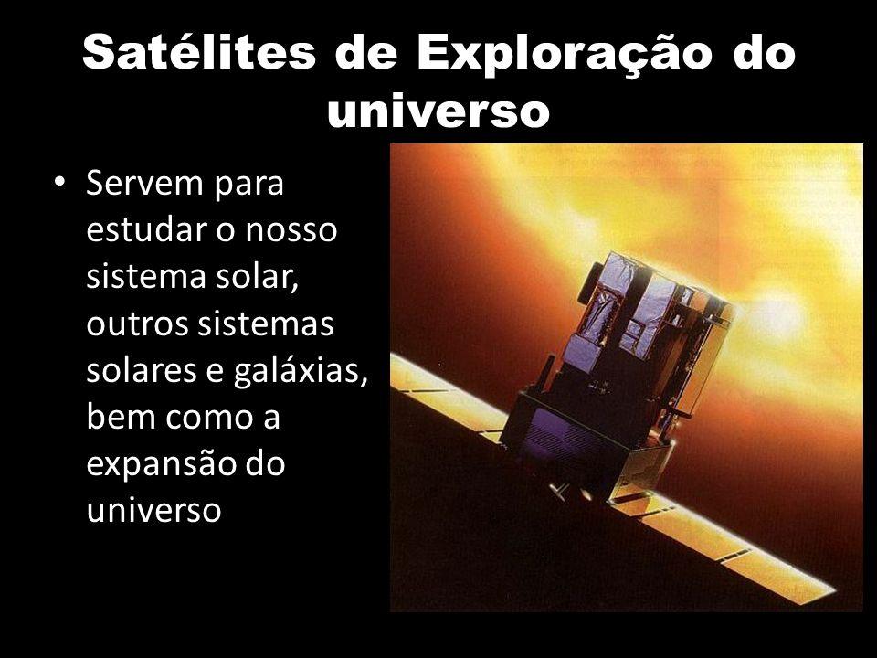 Satélites de Exploração do universo