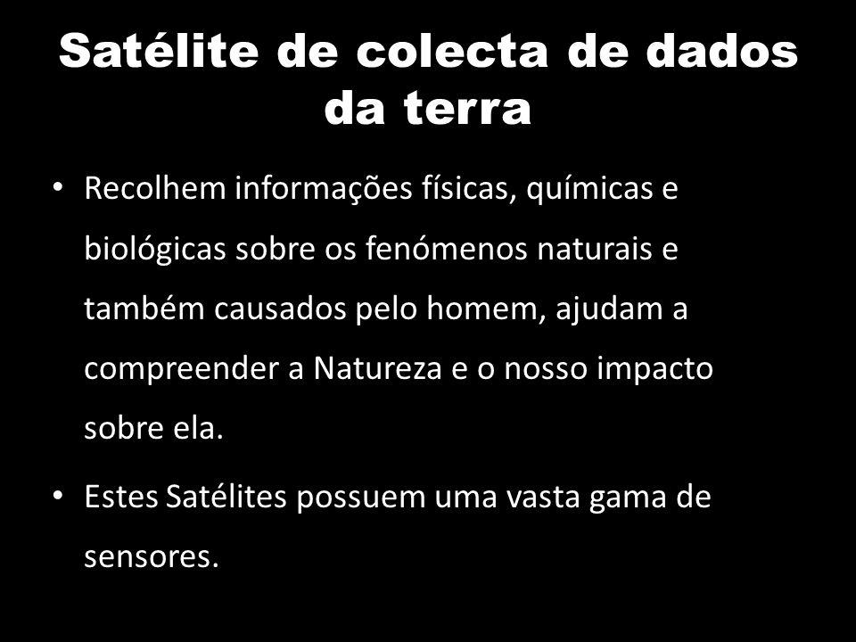 Satélite de colecta de dados da terra