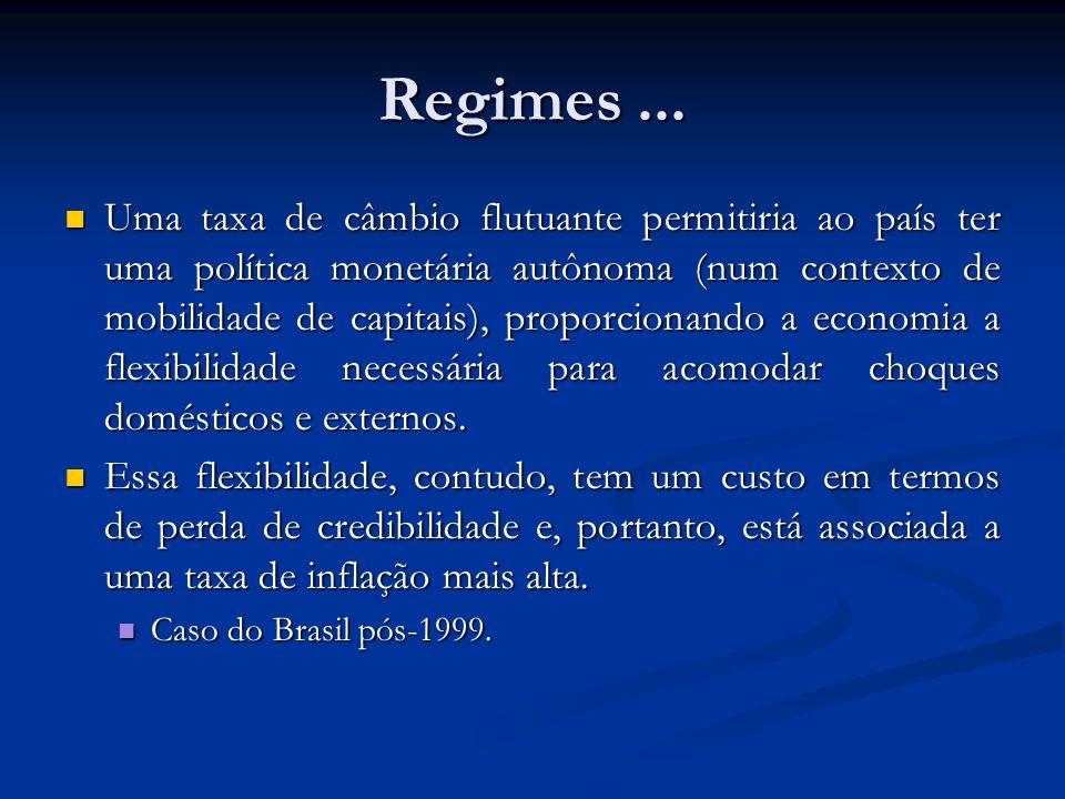 Regimes ...