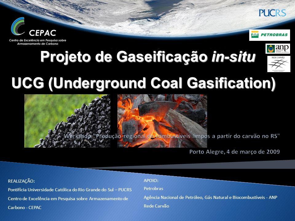 Projeto de Gaseificação in-situ