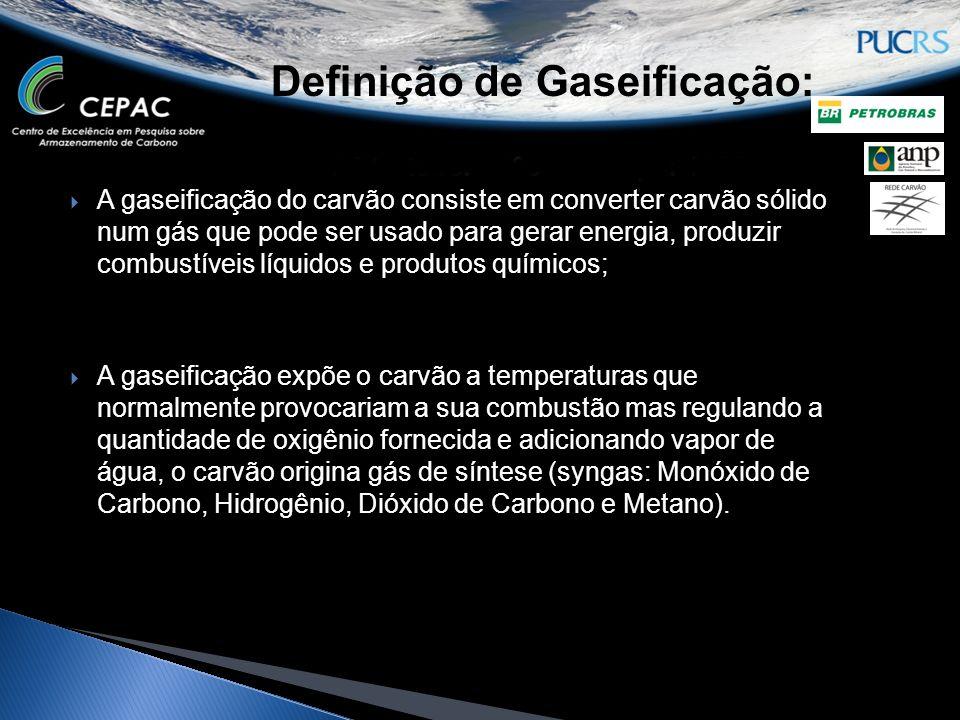 Definição de Gaseificação: