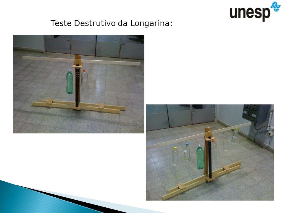 Teste Destrutivo da Longarina: