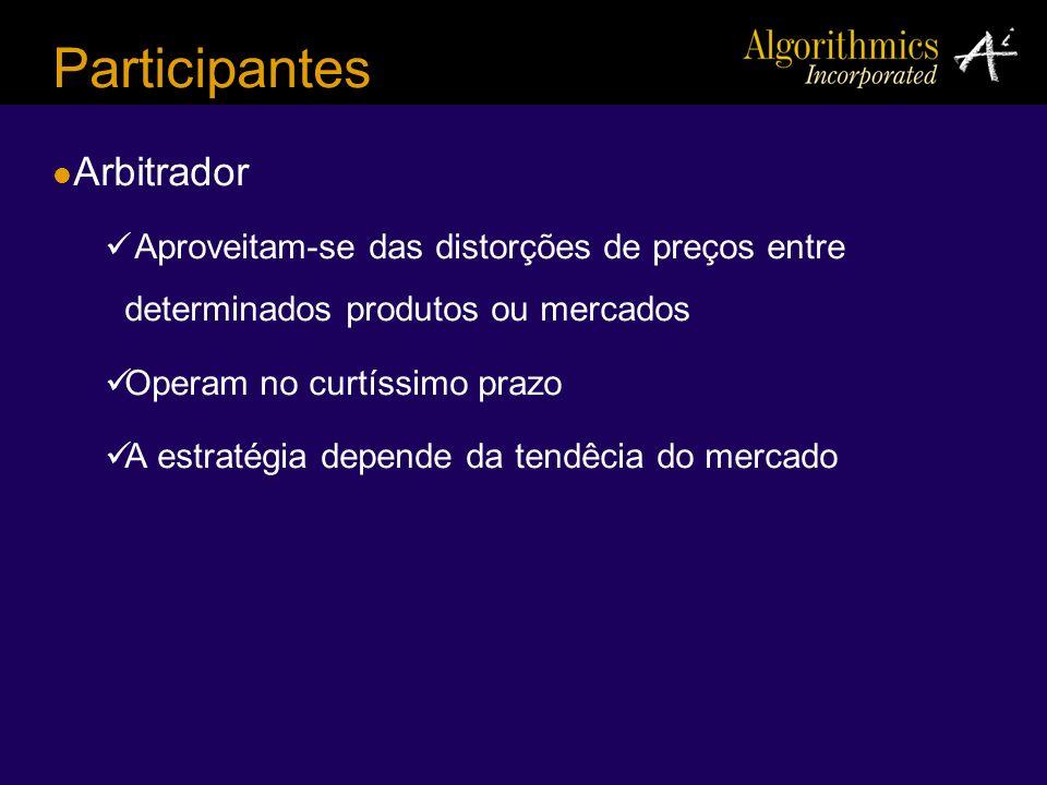Participantes Arbitrador