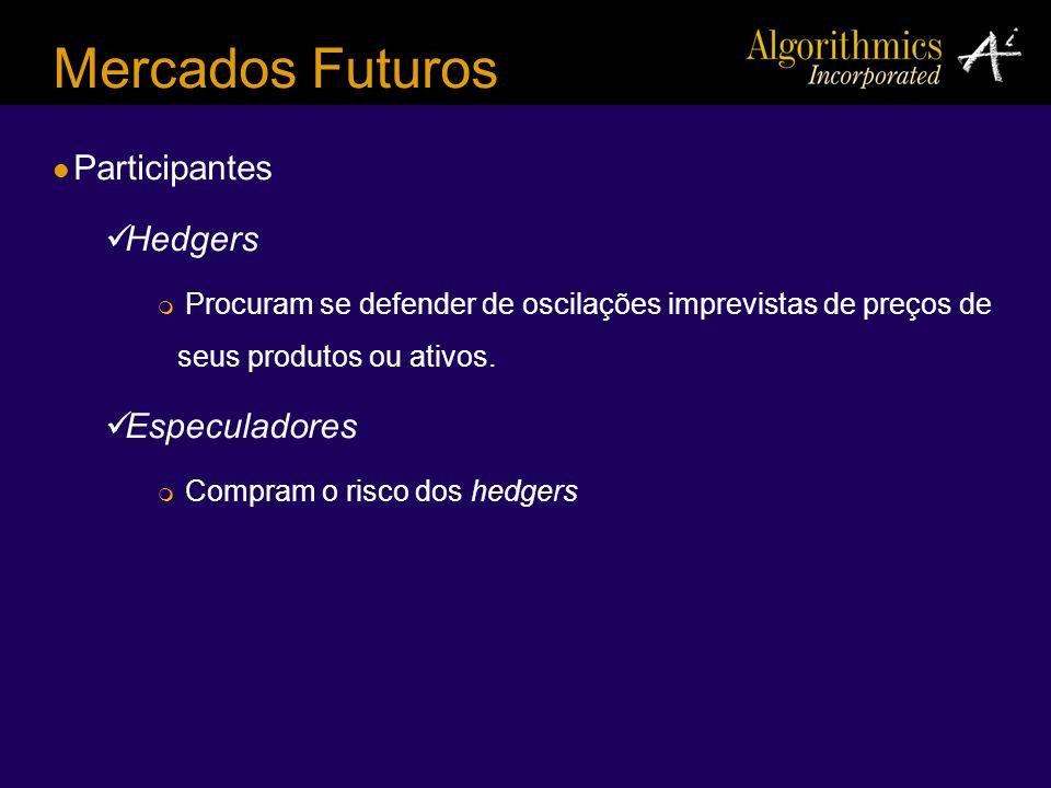 Mercados Futuros Participantes Hedgers Especuladores