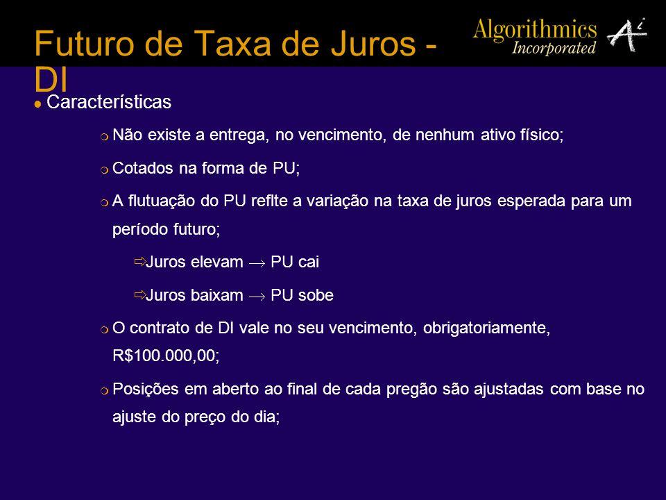 Futuro de Taxa de Juros - DI