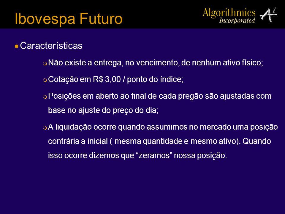 Ibovespa Futuro Características