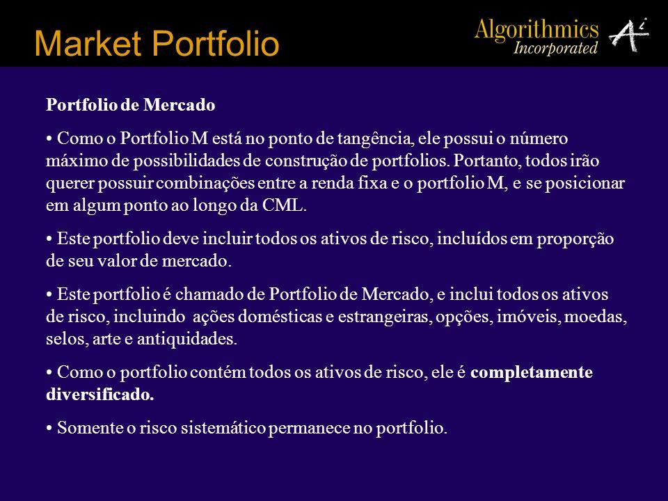 Market Portfolio Portfolio de Mercado