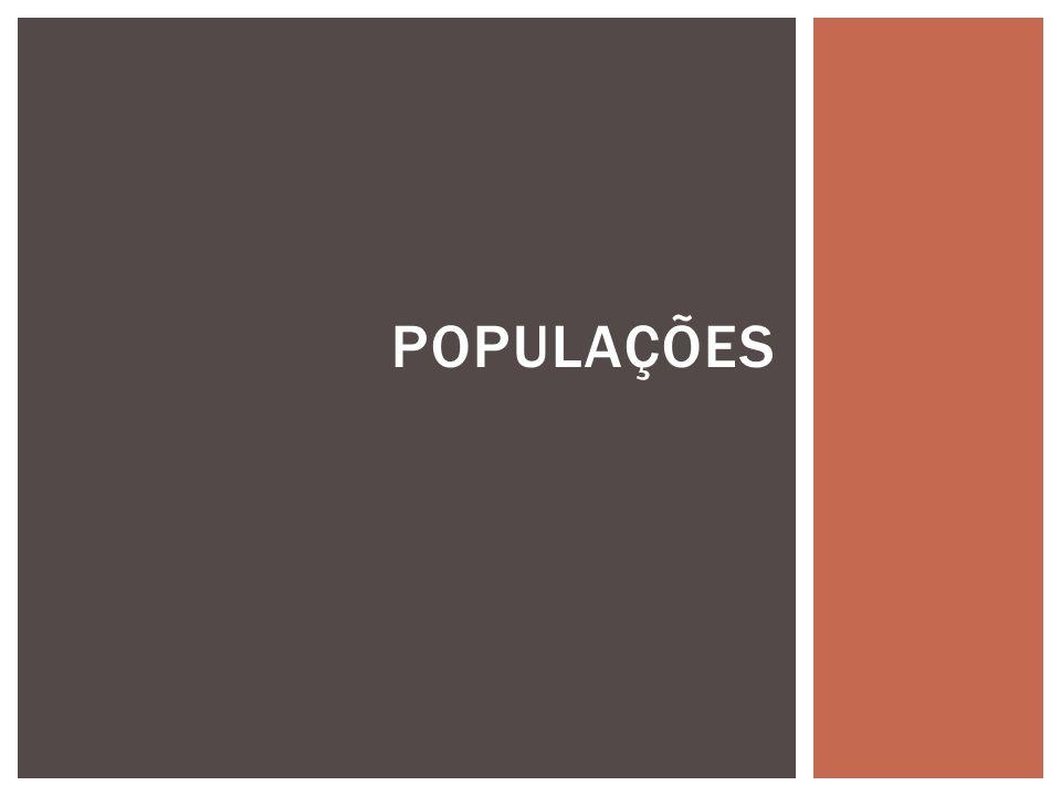 POPULAÇÕES