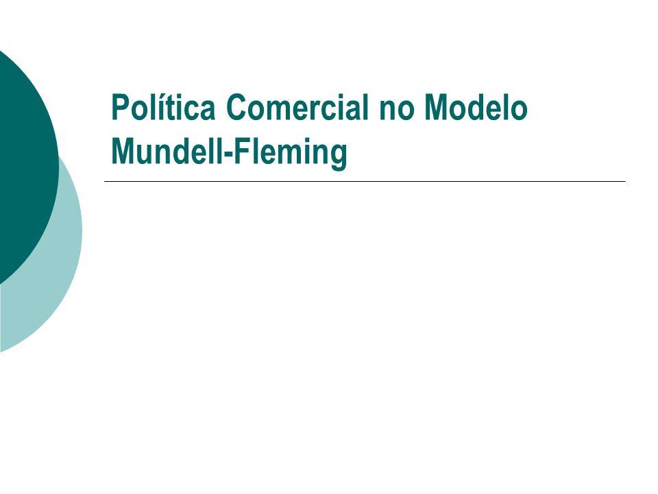 Política Comercial no Modelo Mundell-Fleming