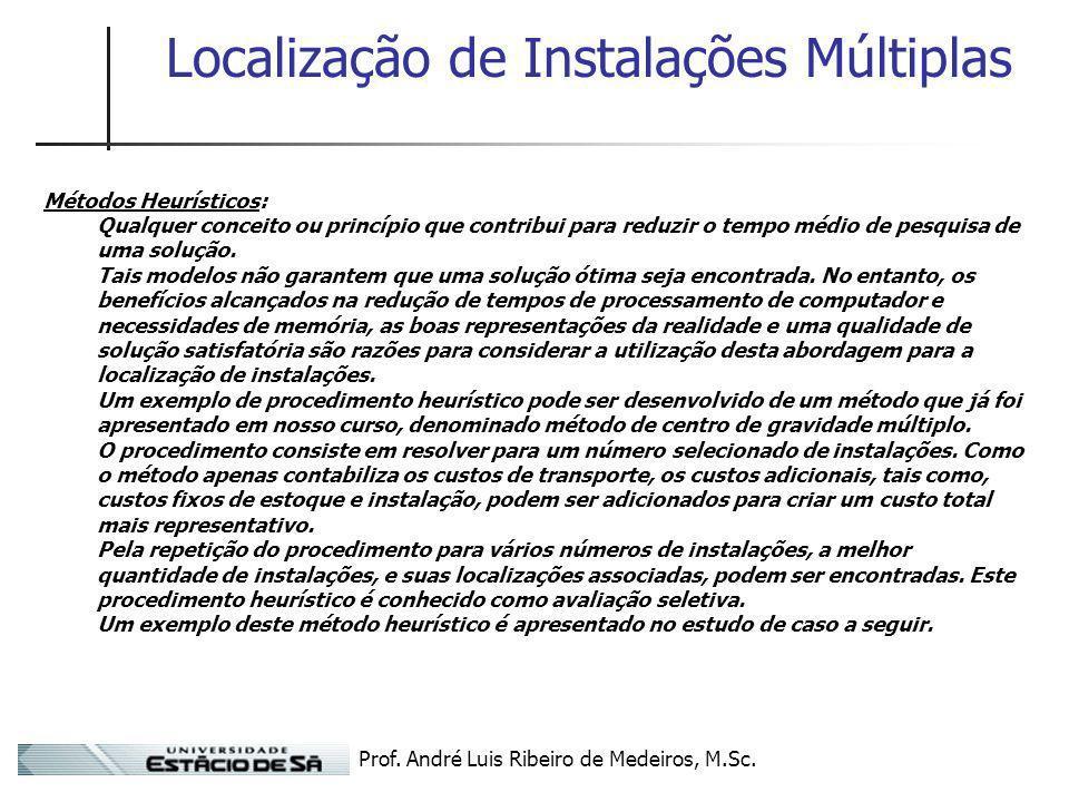 Localização de Instalações Múltiplas