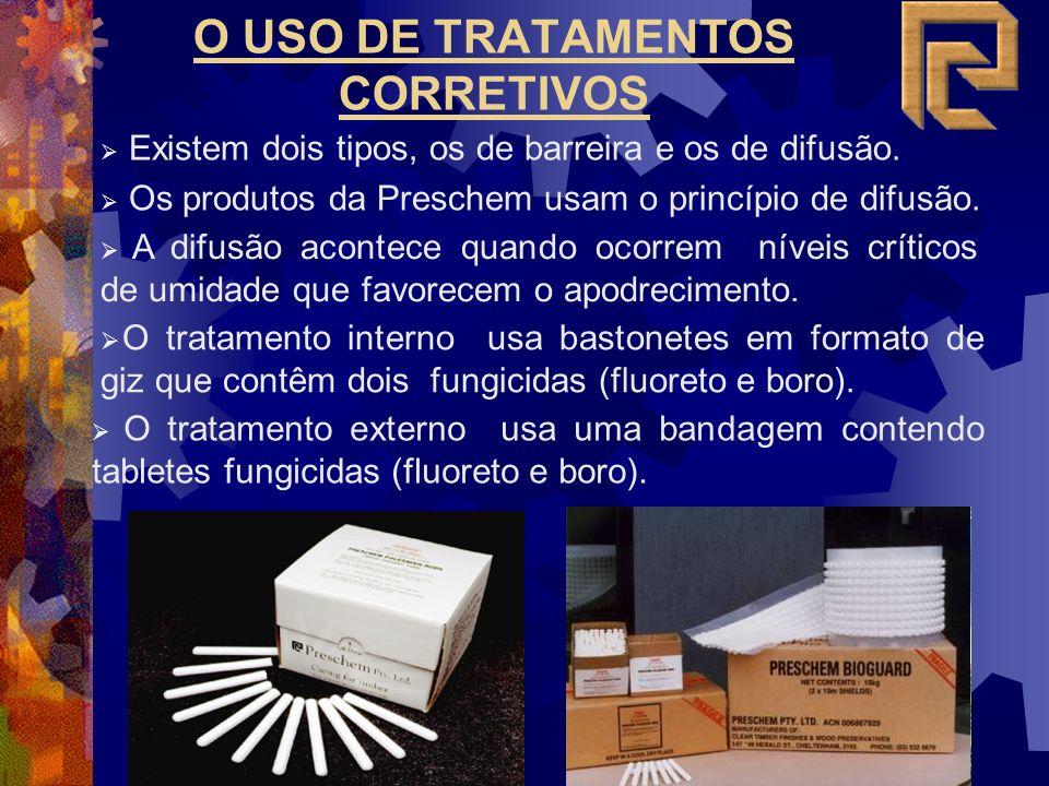 O USO DE TRATAMENTOS CORRETIVOS