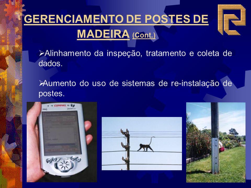 GERENCIAMENTO DE POSTES DE MADEIRA (Cont.)