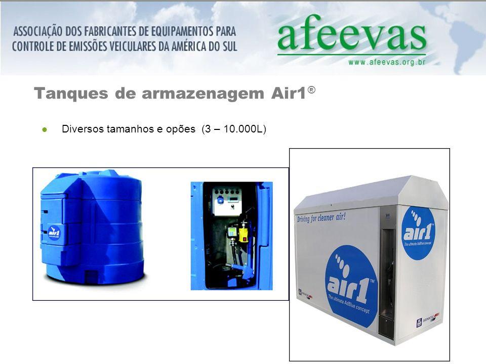 Tanques de armazenagem Air1®