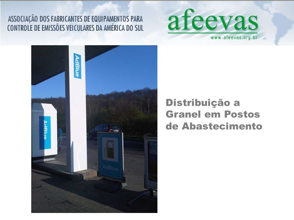 Distribuição a Granel em Postos de Abastecimento