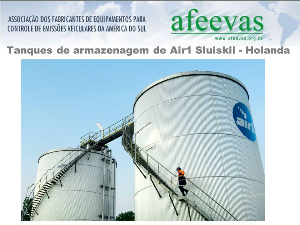 Tanques de armazenagem de Air1 Sluiskil - Holanda