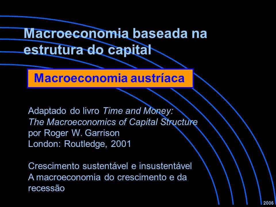Macroeconomia baseada na estrutura do capital