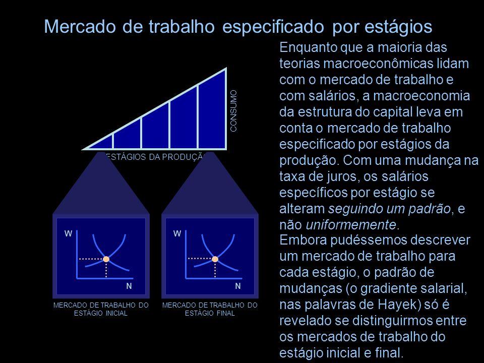 Mercado de trabalho especificado por estágios