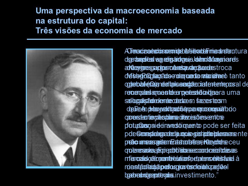 Uma perspectiva da macroeconomia baseada na estrutura do capital: