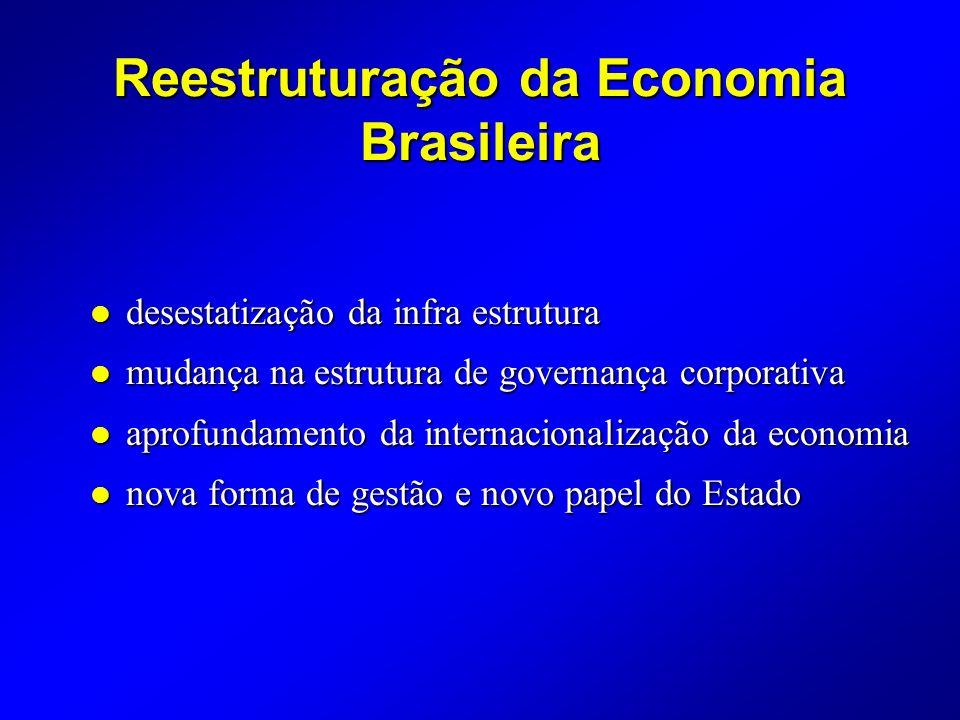 Reestruturação da Economia Brasileira