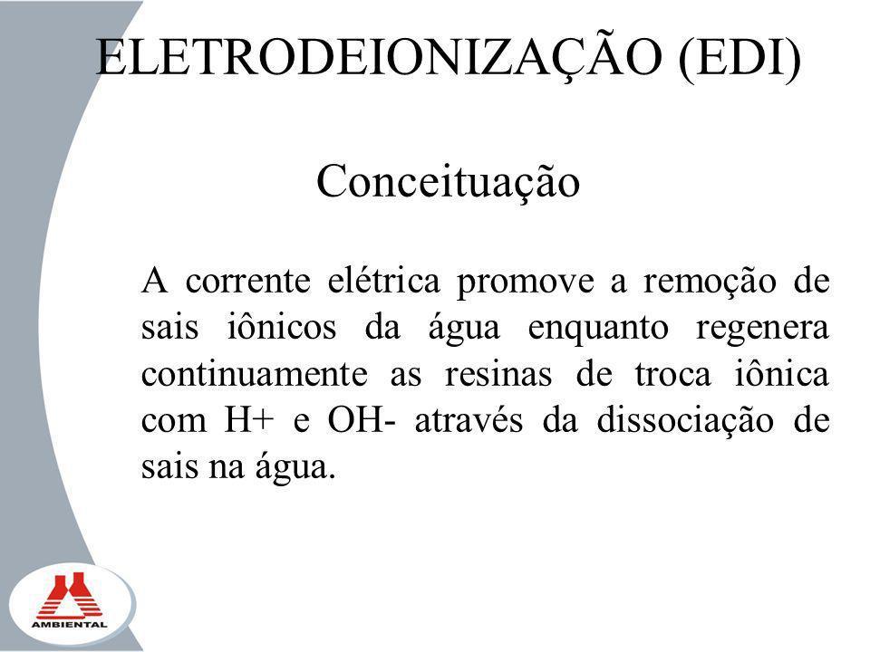 ELETRODEIONIZAÇÃO (EDI) Conceituação