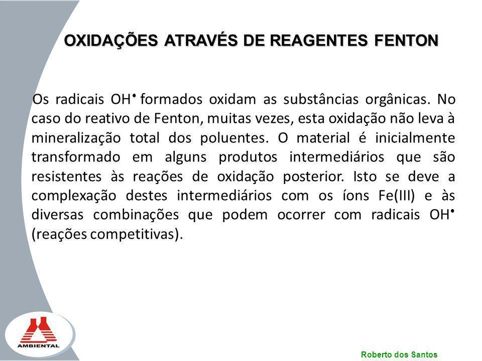 OXIDAÇÕES ATRAVÉS DE REAGENTES FENTON