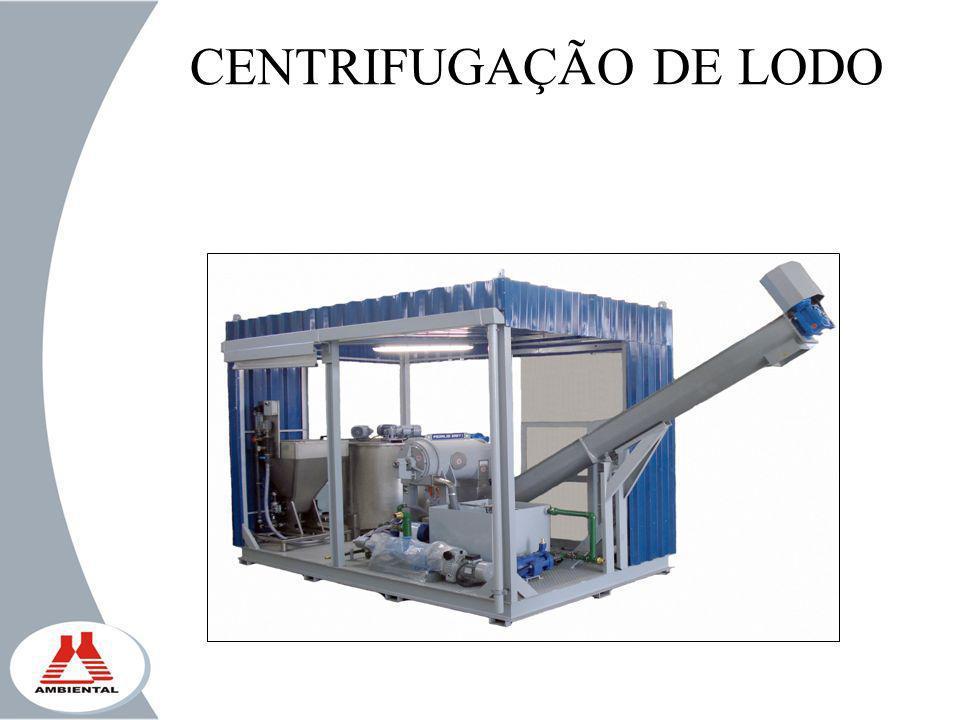 CENTRIFUGAÇÃO DE LODO