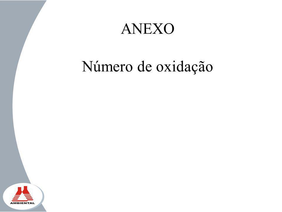 ANEXO Número de oxidação