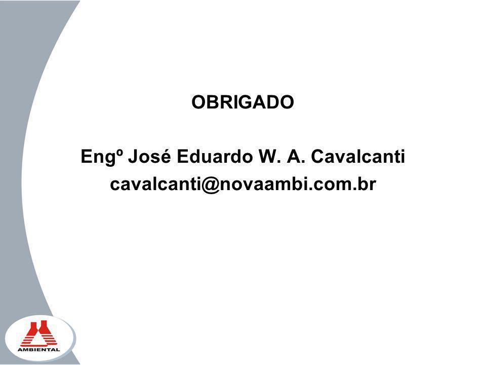Engº José Eduardo W. A. Cavalcanti