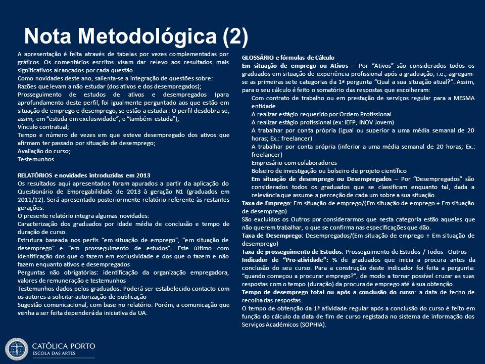 Nota Metodológica (2)