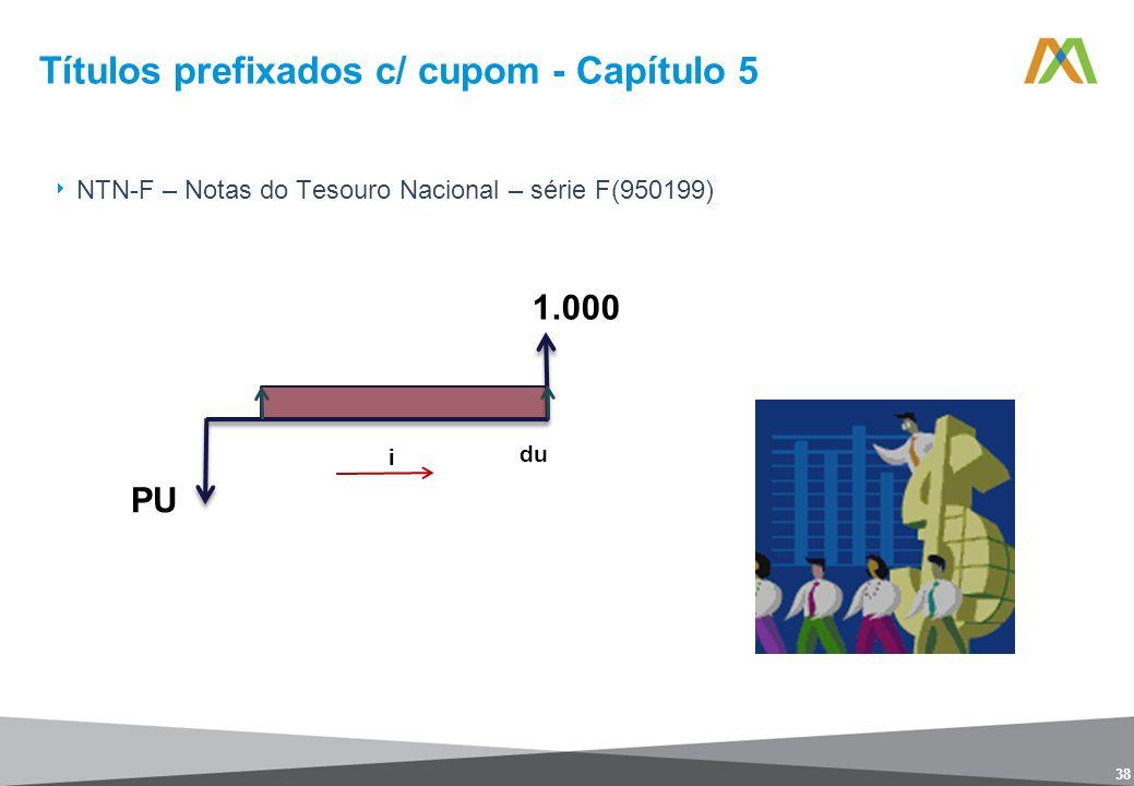 Títulos prefixados c/ cupom - Capítulo 5
