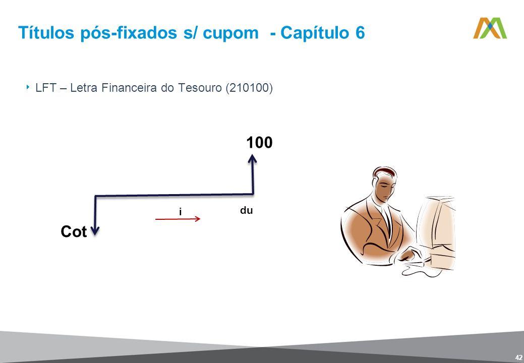 Títulos pós-fixados s/ cupom - Capítulo 6