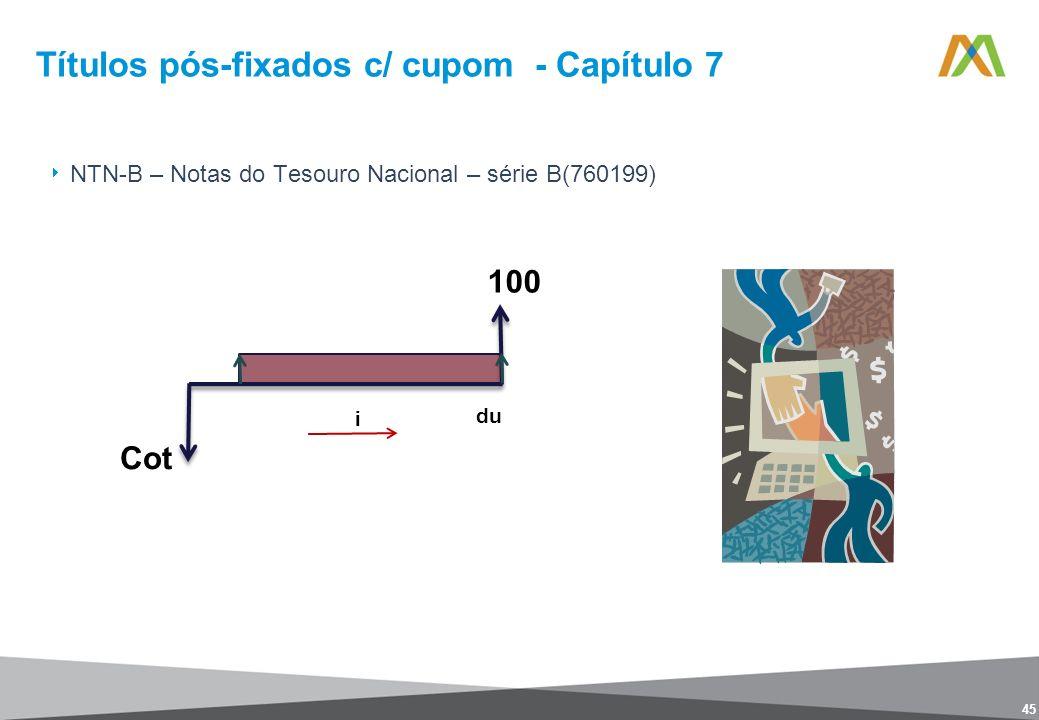 Títulos pós-fixados c/ cupom - Capítulo 7