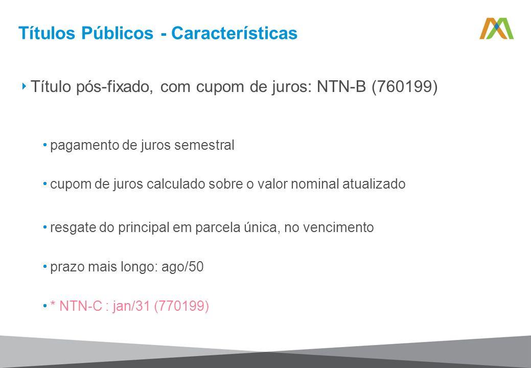 Títulos Públicos - Características