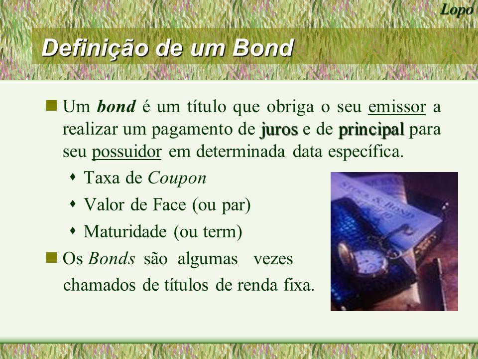 Definição de um Bond