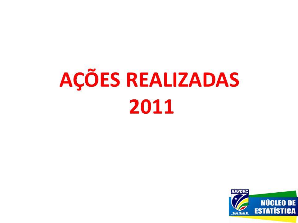 AÇÕES REALIZADAS 2011