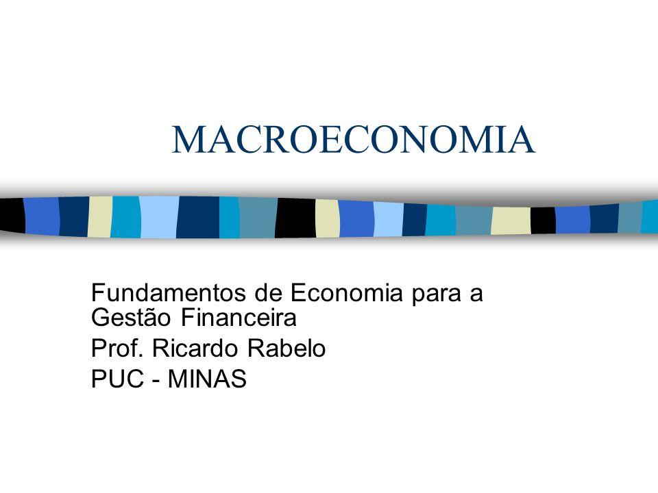 MACROECONOMIA Fundamentos de Economia para a Gestão Financeira