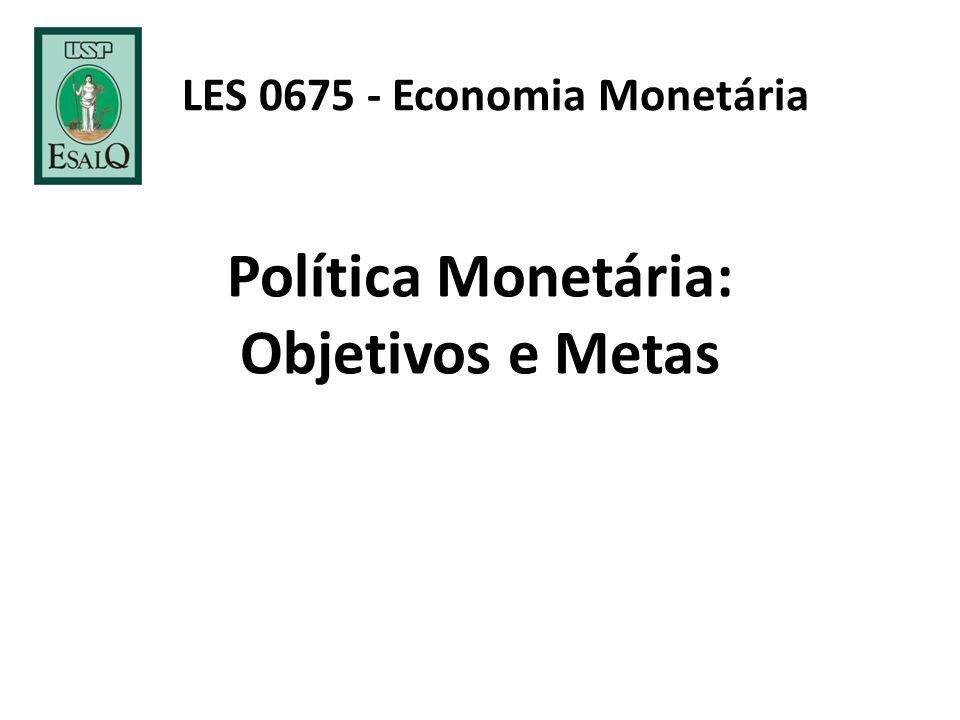 Política Monetária: Objetivos e Metas