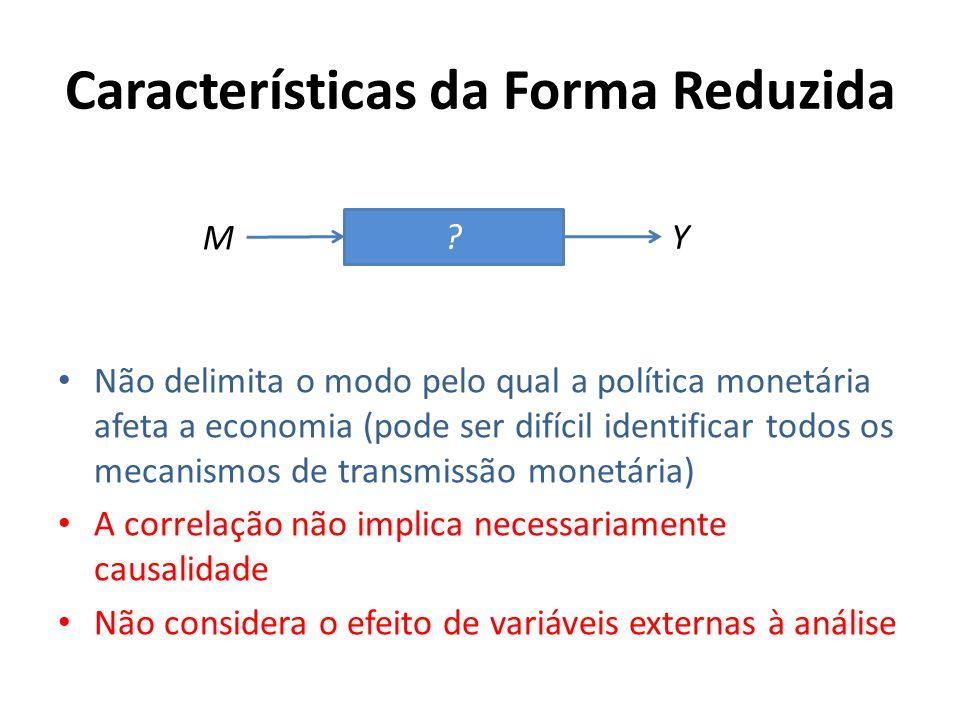 Características da Forma Reduzida