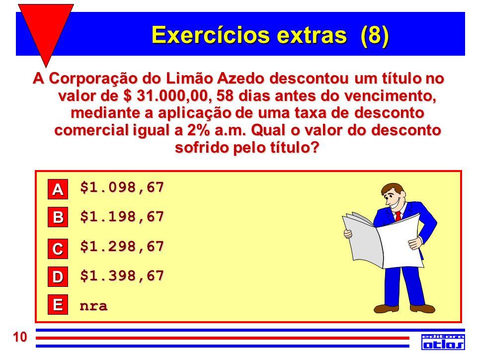 Exercícios extras (8)
