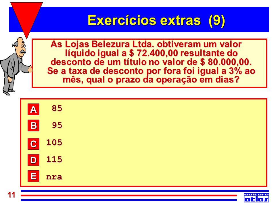 Exercícios extras (9)