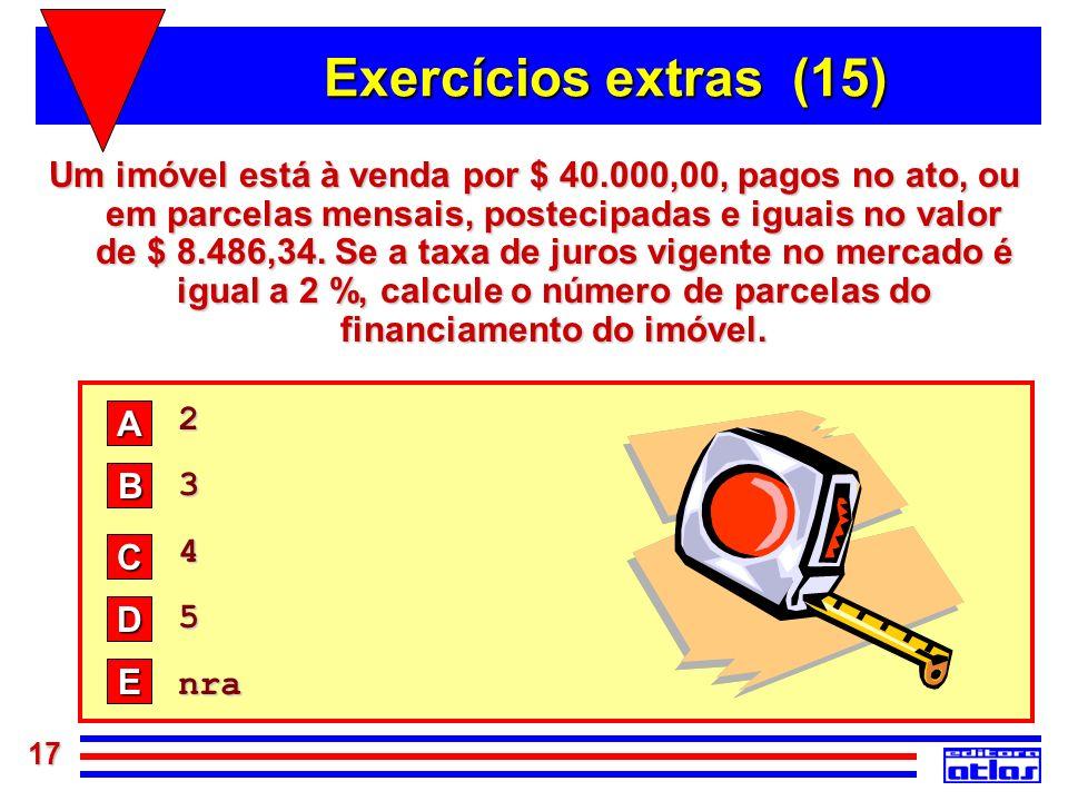 Exercícios extras (15)